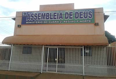 Frente da Congregação Jardim Califórnia
