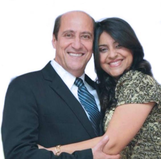 Pastor José Vieira e sua esposa Rosilene