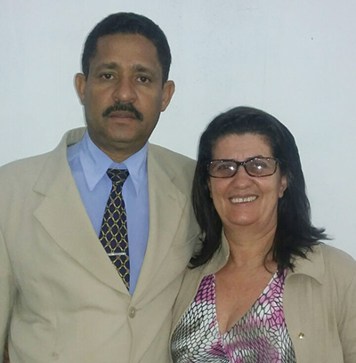Pastor Samuel e esposa