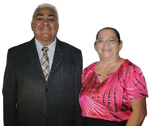 Pastor Damião e sua esposa Zilá