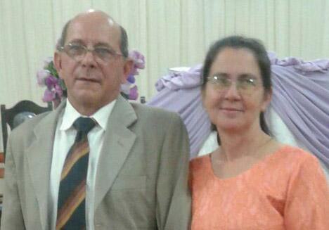 Pastor Divino e sua esposa Marli