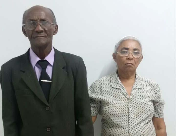 Pastor Manuel e Missionária Maria Martins
