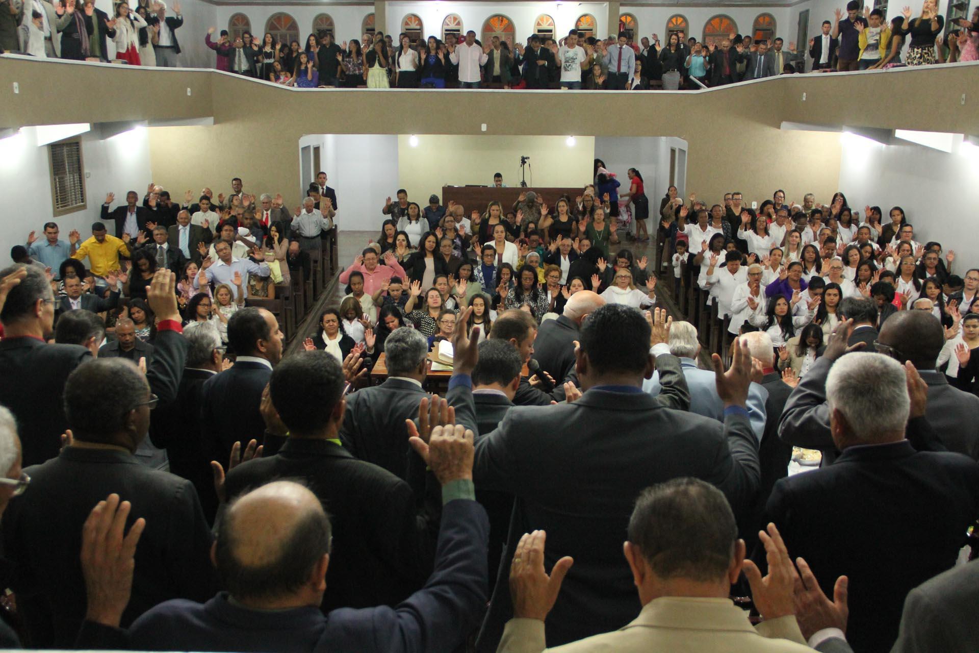 Santa Ceia na ADCN, com Participação da ADEALO - 2016