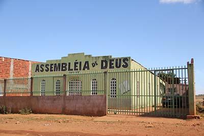 Frente da sub-congregação chácara 84