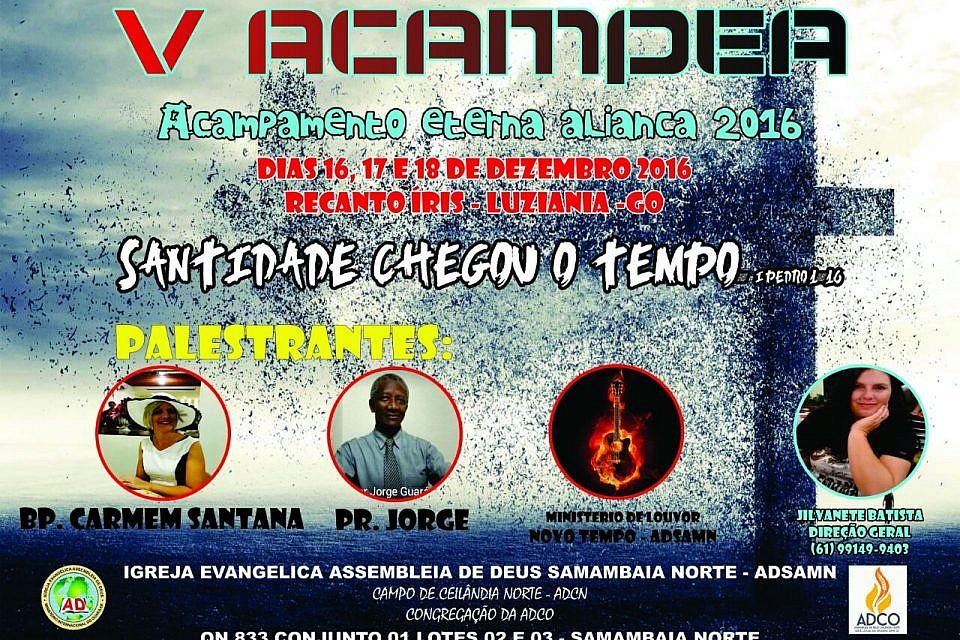 Venha para o acampamento Eterna Aliança