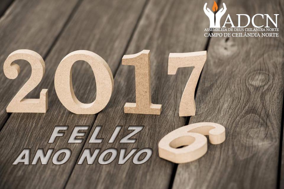 Desejamos a você um Feliz Ano Novo!