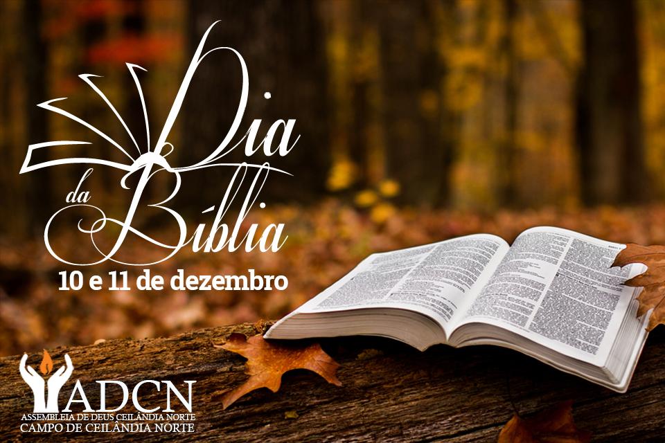 Igreja promove comemorações pelo Dia da Bíblia