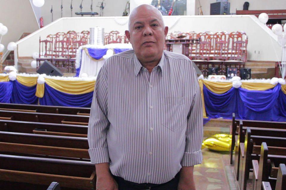 Pastor Ruberval Alves Leite fala aos membros e amigos da ADCN